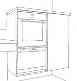 combinaison four 157x165 Cuisine thérapeutique et ergonomique