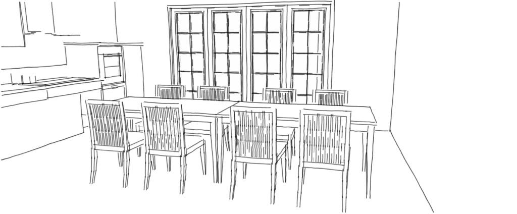 Pi ces vivre mobilier adapt pmr modulhome for Dessin salle a manger