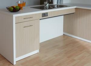 cuisine table tiroir 300x217 Cuisine thérapeutique et ergonomique