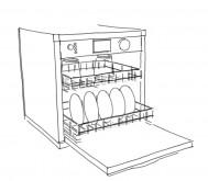 lave vaisselle 189x165 Cuisine thérapeutique et ergonomique