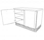 meuble bas 2 181x165 Cuisine thérapeutique et ergonomique