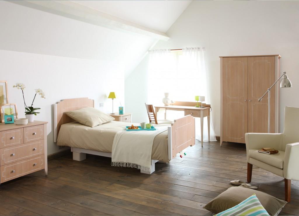 d coration chambre une personne. Black Bedroom Furniture Sets. Home Design Ideas