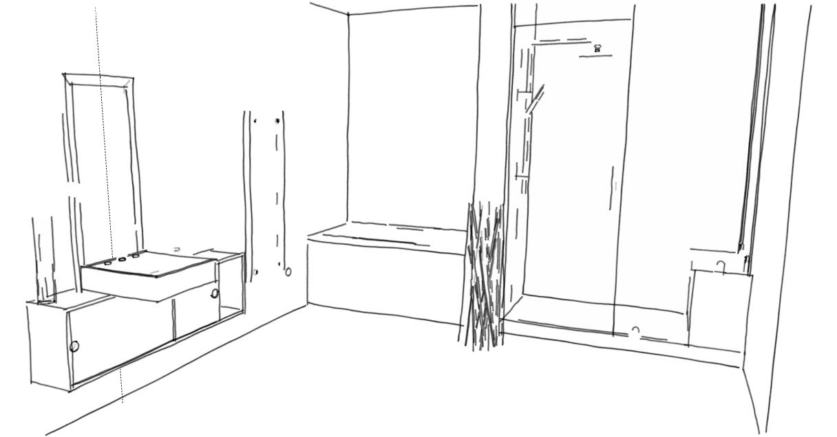 salle de bain mobilite reduite Salle de Bain à mobilier adapté
