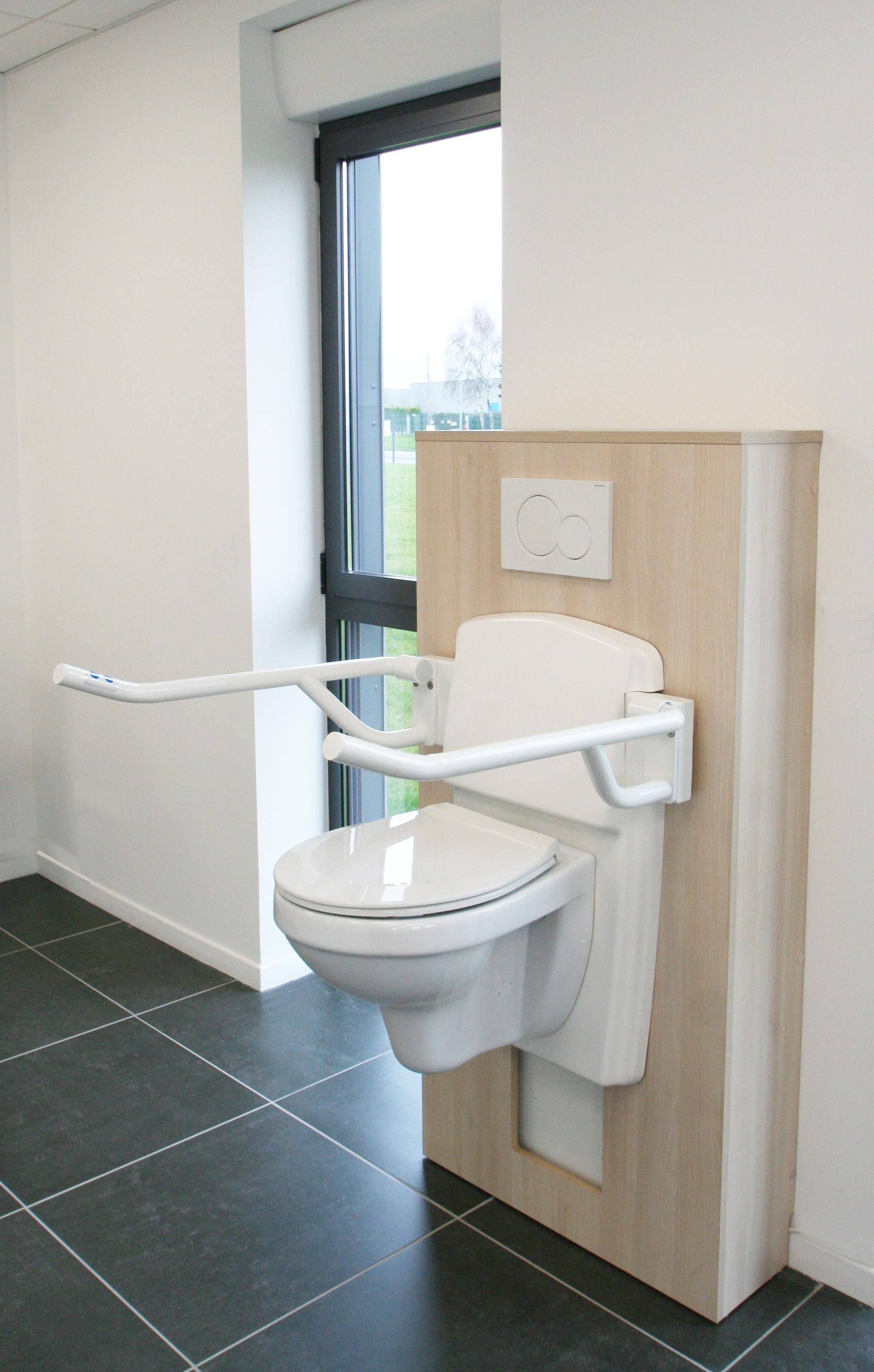 Meubles Salle De Bain Personnes Handicapées salle de bain à mobilier adapté - modulhome