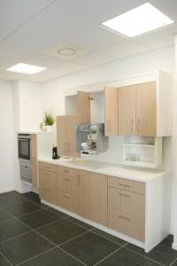 meubles hauts hauteur variable 200x300 Cuisine thérapeutique et ergonomique